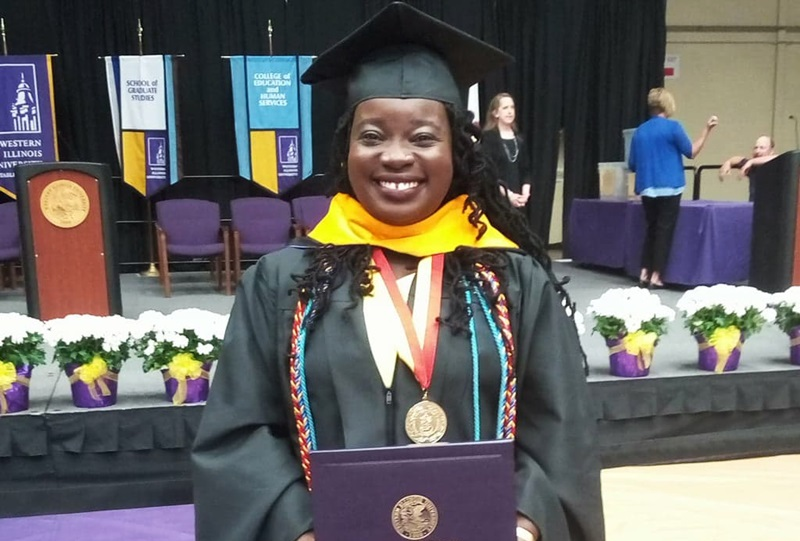 Inspired by mom | St Mary native succeeds in overseas university