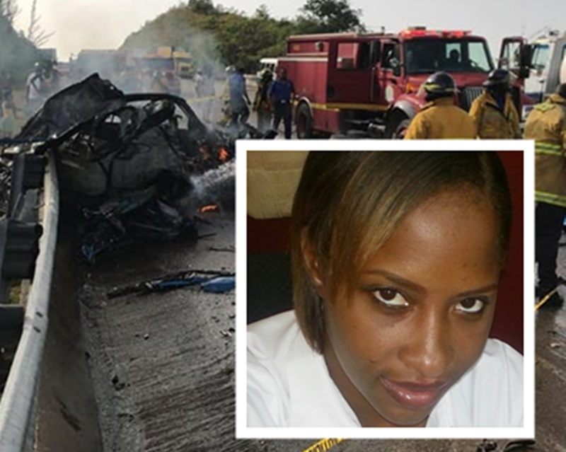 Woman who dies in fiery accident was overtaking - Police