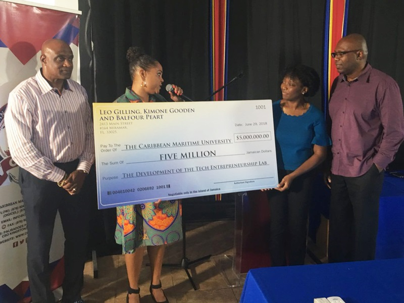 Diaspora group donates $5 million to Caribbean Maritime University