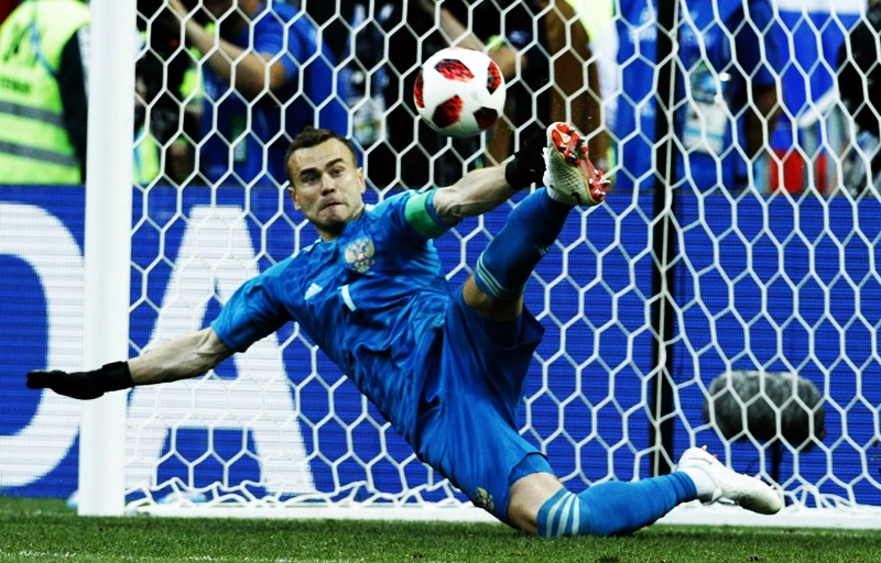 Russia stuns Spain on penalties to reach World Cup quarter-finals