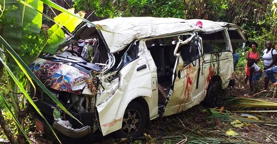 St Mary boy dies in nasty bus crash - Jamaica Beacon